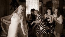 Фотосъемка свадьбы Евгения и Дины в Могилеве - подружки невесты