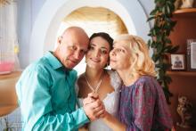 Фотосъемка свадьбы Сергея и Елены в Могилеве - дома у невесты - родители