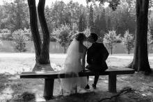 Фотосъемка свадьбы Андрея и Кристины в Могилеве - свадебная прогулка