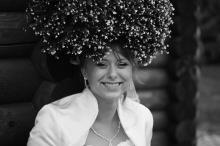 Фотосъемка свадьбы Александра и Ольги в Могилеве - невеста в цветах