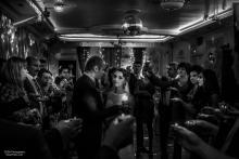 Фотосъемка свадьбы Михаила и Юлии в Круглом - свечи - церемония
