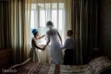Фотосъемка свадьбы Андрея и Кристины в Могилеве - дома у невесты