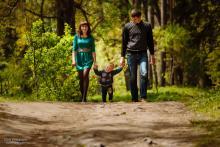 Семейная фотосессия в Могилеве